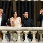 Kristen Stewart, Taylor Lautner, Robert Pattinson & Chris Weitz